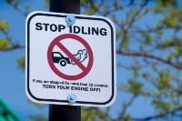 'Stop Idling' Sign