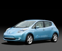 Nissan LEAF video