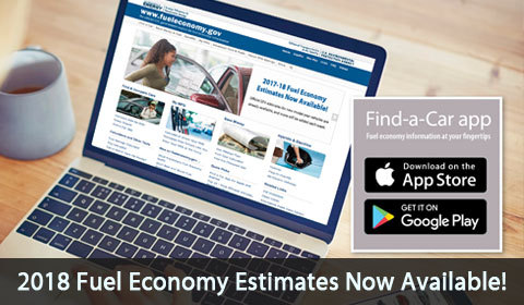 2018 fuel economy estimates now available.