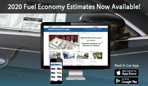 2020 fuel economy estimates now available.