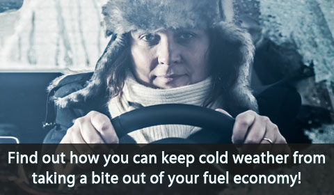 Find out how you can keep cold weather from taking a bite out of your fuel economy