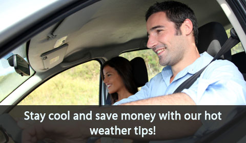 Stay cool and save money with our hot weather tips
