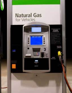 Natural gas pump