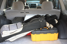 Excess items in trunk