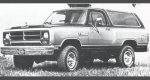 1986 Dodge AD100/AD150 Ramcharger 2WD