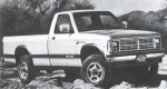 1987 Dodge Dakota Pickup 2WD