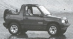 1990 Geo Tracker Convertible 4WD