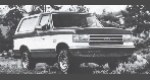 1989 Ford Bronco 4WD