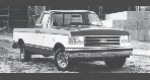 1989 Ford F250 Pickup 2WD