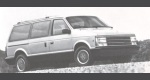 1989 Plymouth Voyager/Grand Voyager 2WD