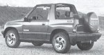 1991 Geo Tracker Convertible 2WD