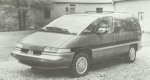 1992 Oldsmobile Silhouette 2WD