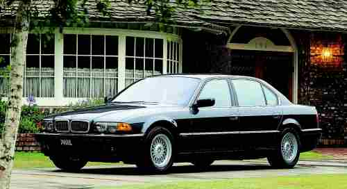2000 BMW 740il/740il Protection